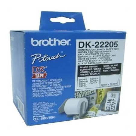 Papel Etiquetas Brother DK-22205