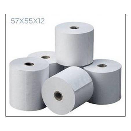 Papel Térmico 57x55 10 Unidades