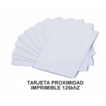 TRANSPONDER RFID 125Khz.TARJETA Blanca/50 Tarjetas