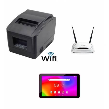 Pack Tablet + Punto de Acceso +Impresora Wifi