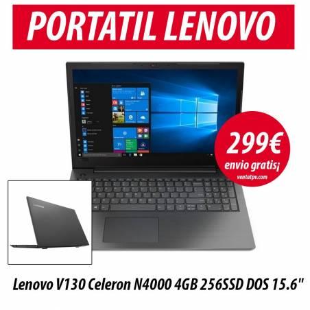 Lenovo V130 Celeron N4000 4GB 256SSD 15,6