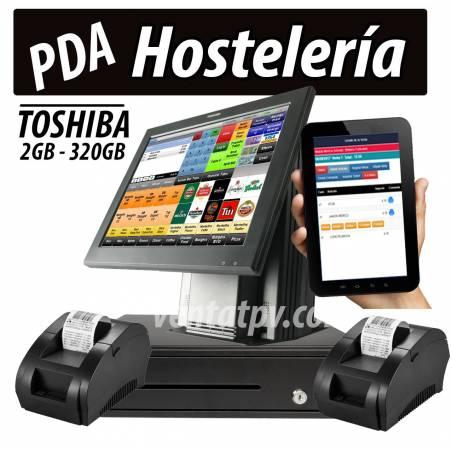 Tpv con comandero Toshiba ST-A20