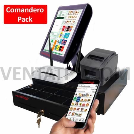 Tpv Comandero con 2 PDA Hosteleria