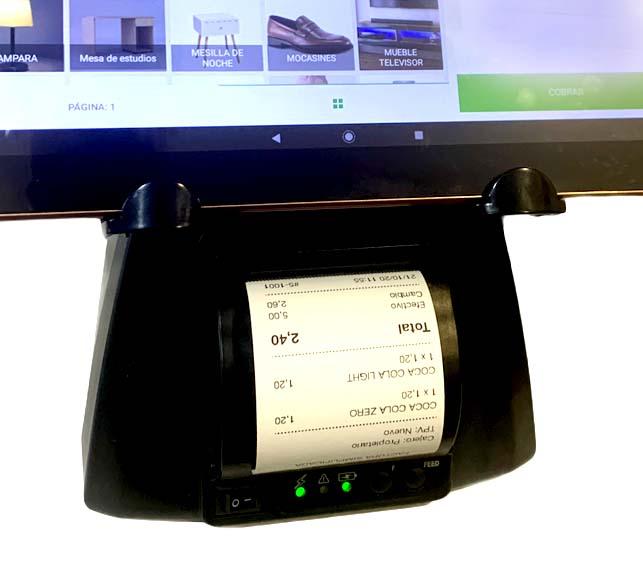 impresora de tickets loyverse