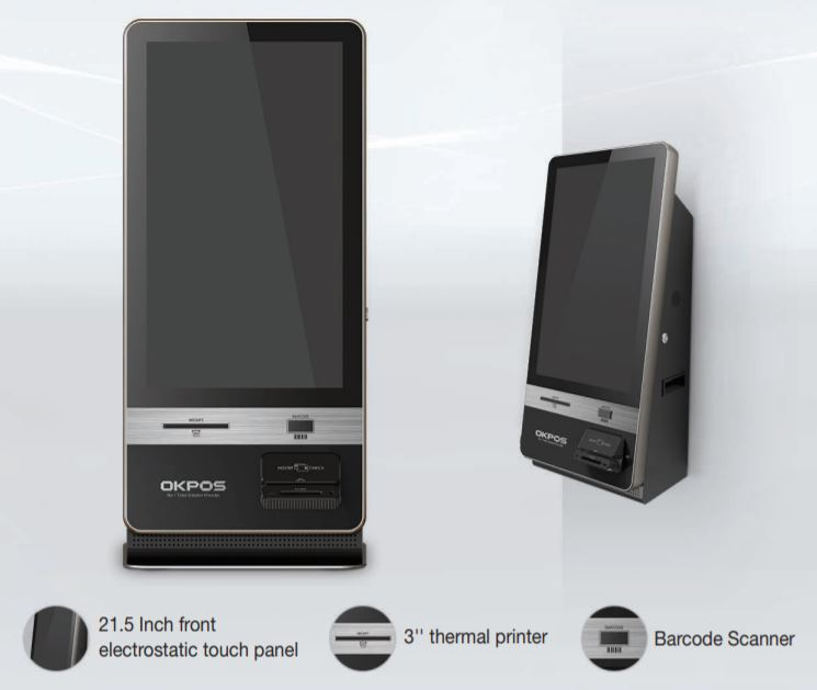 kiosko digital okpos k1