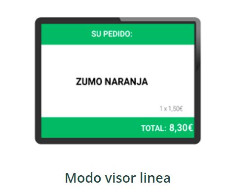 visor doble pantalla tpv