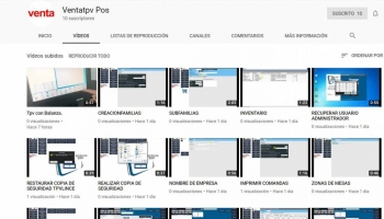 Video tutorial de  Setlince TPV, tutoriales en video Set lince TPV.